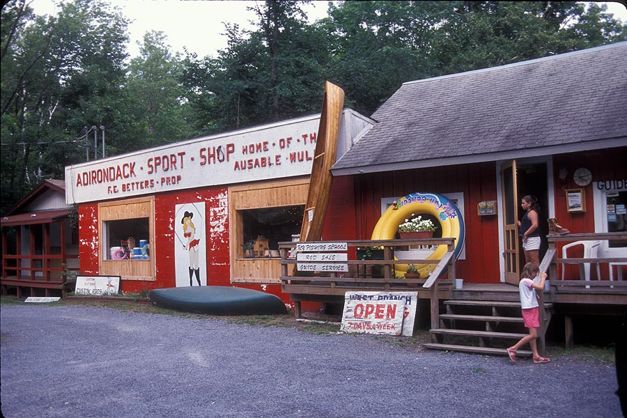 Adirondack sport shop tauny register of very special places for Fishing store nyc